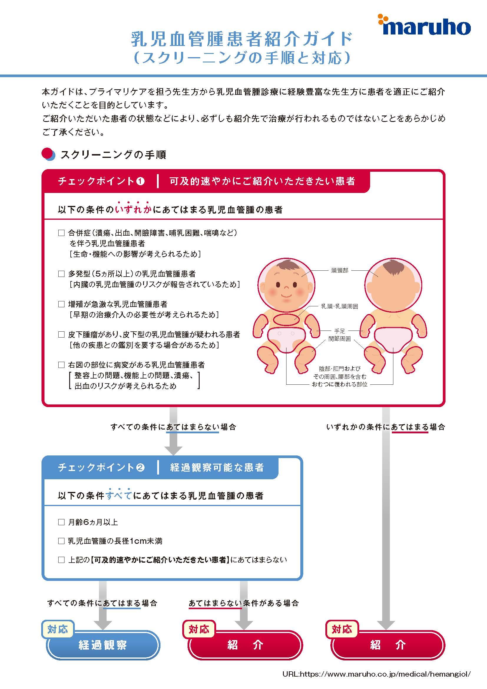 乳児血管腫患者